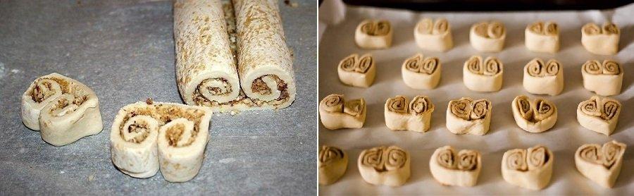 Листкове печиво «Вушка»