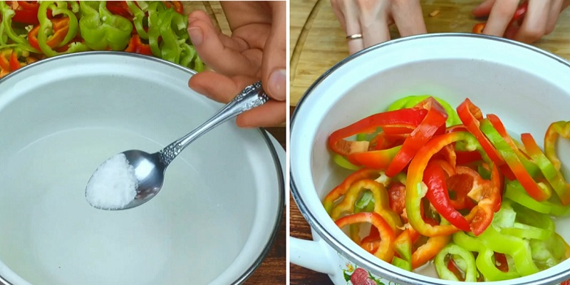 Швидкий салат з перцем