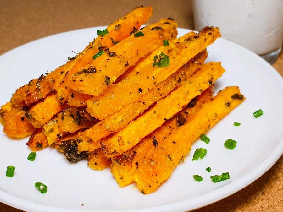 Морква фрі в духовці