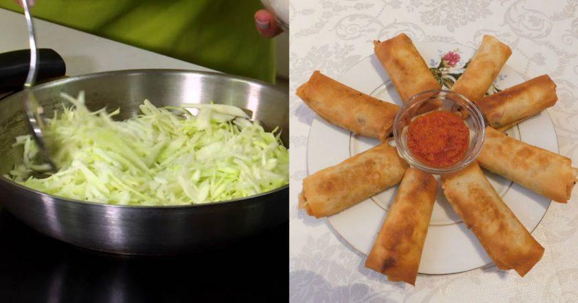 Млинці з капустою подивитися рецепт