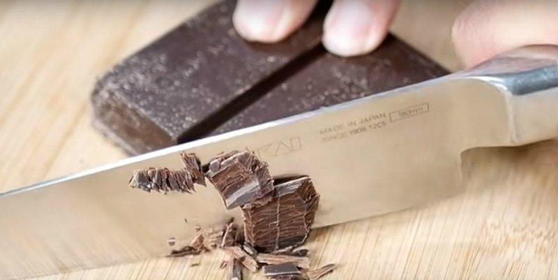 Шоколадний мус-десерт