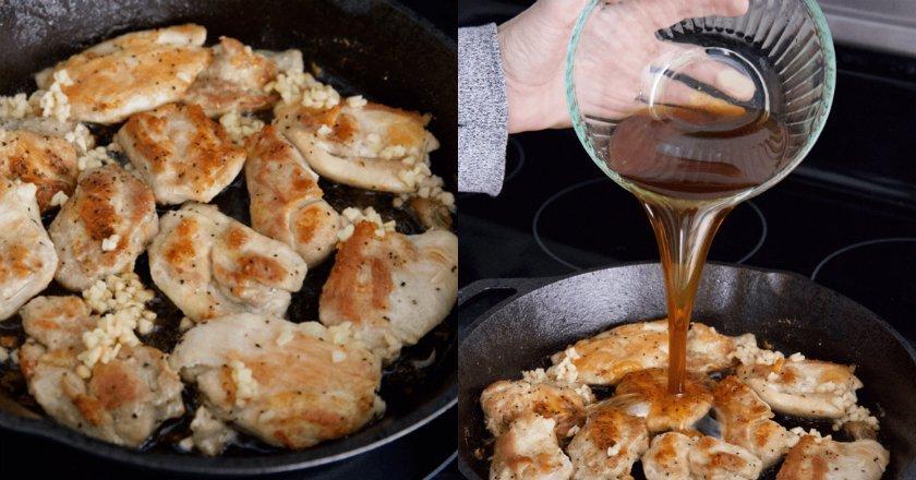 Курка з медом та часником подивитися рецепт