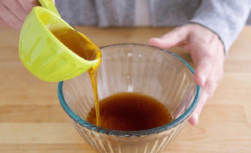 Курка з медом та часником