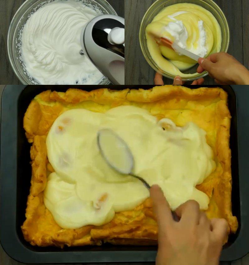 Торт «Еклер»
