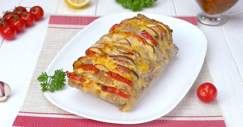 М'ясо «Гармошка» з духмяним соусом подивитися рецепт