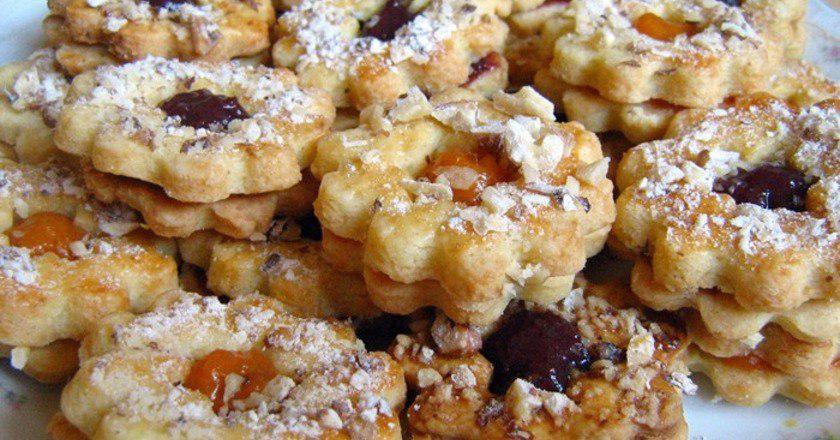 Пісочне печиво з начинкою подивитися рецепт
