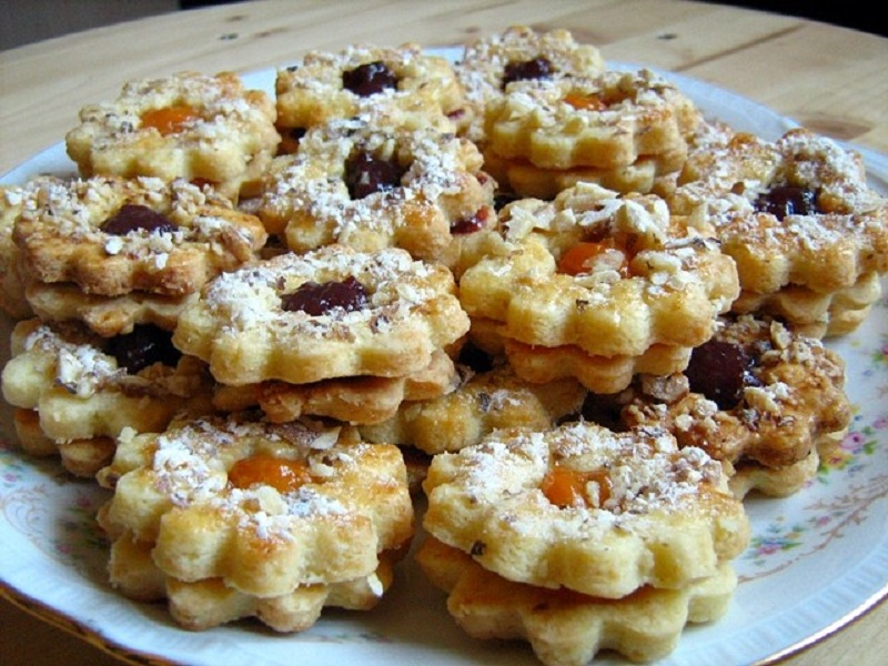 Пісочне печиво з начинкою