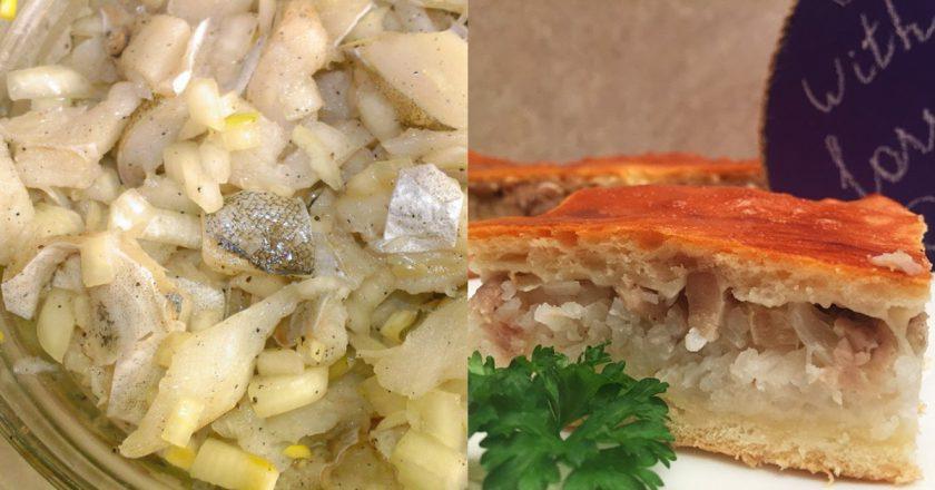 Пиріг з капустою і рибою - Це Смак