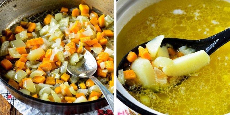 Суп з пельменями