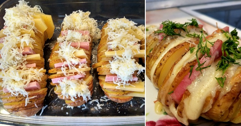 Картопля з шинкою і сиром як приготувати, покрокові рецепти від «Це Смак»