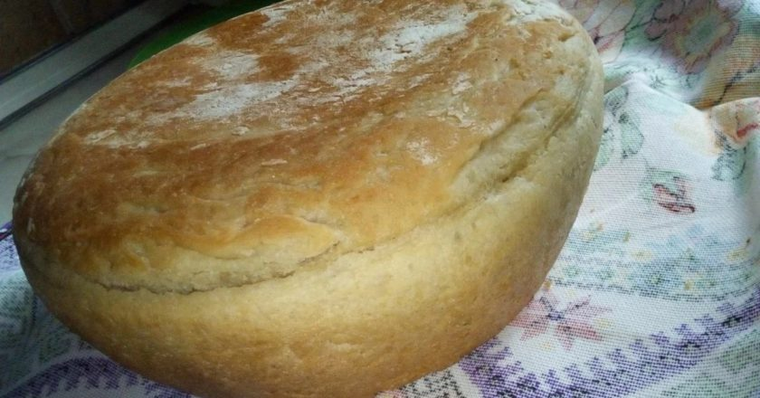 Хліб на сковороді подивитися рецепт