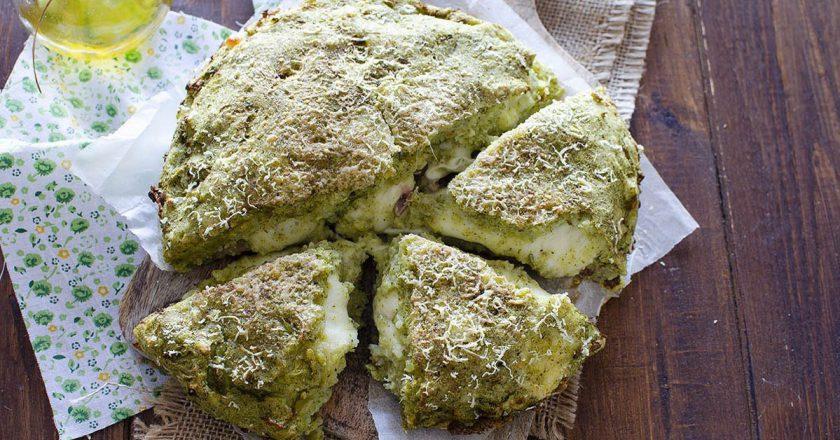 Картопляний пиріг з сиром подивитися рецепт