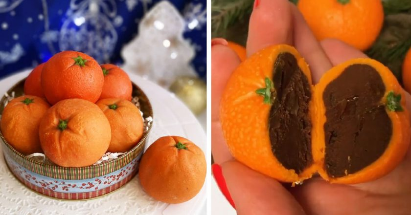 Трюфельні мандарини подивитися рецепт