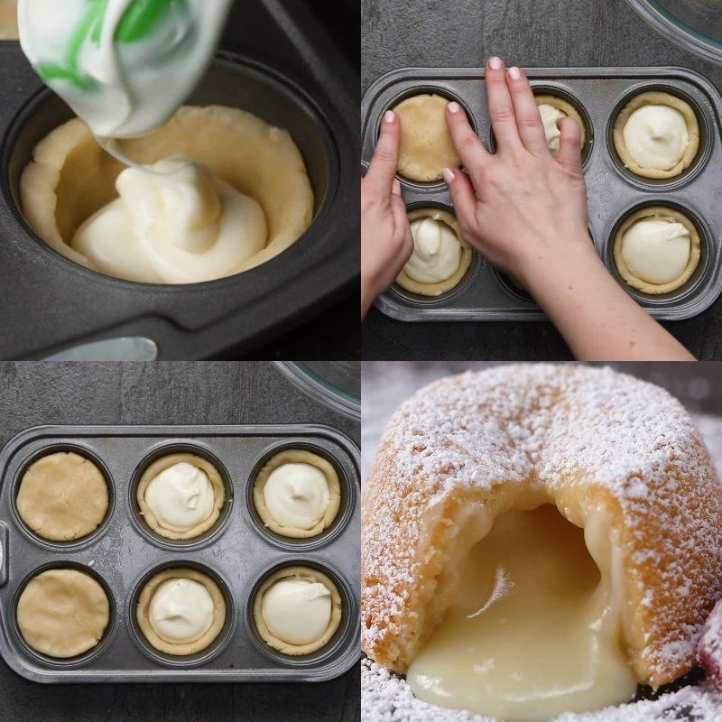 Кекси з рідкою начинкою