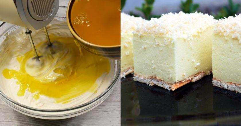 Торт «Сніжний пух» подивитися рецепт
