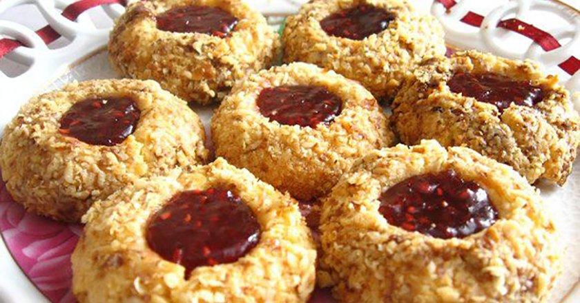 Пісочне печиво з варенням подивитися рецепт