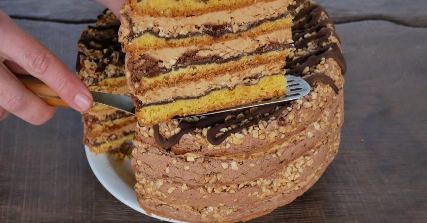 Торт «Білочка» подивитися рецепт