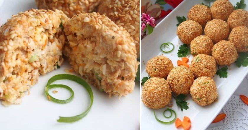 Закусочні кульки «Мімоза» подивитися рецепт