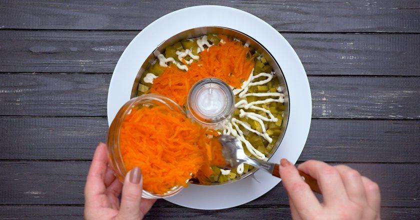 Салат «Прага» подивитися рецепт