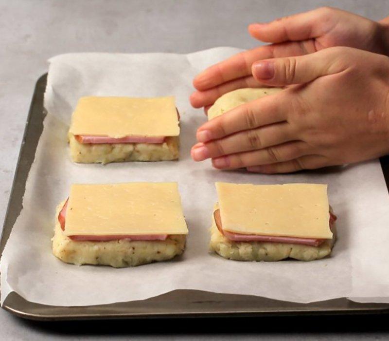 Бутерброди з картоплі