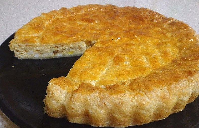 Пиріг з плавленим сиром
