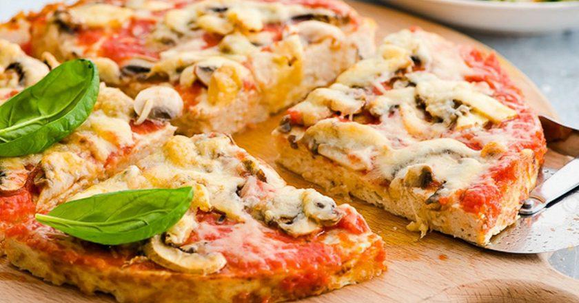 Піца без тіста подивитися рецепт