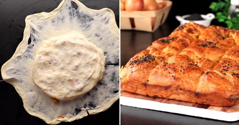 Дріжджовий пиріг з картоплею подивитися рецепт