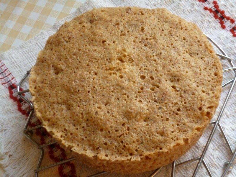 Горіховий торт без борошна