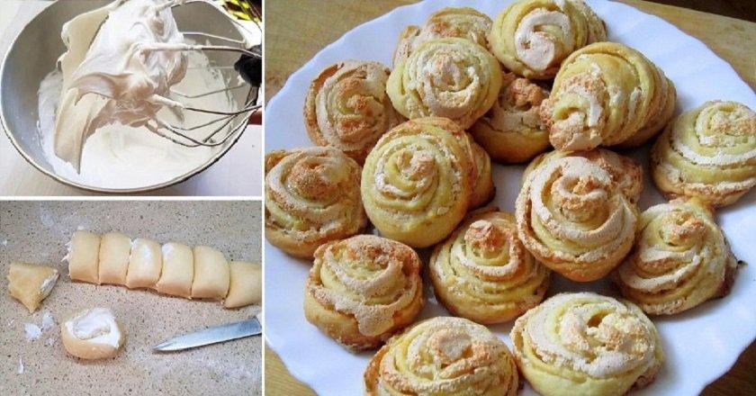 Печиво «Трояндочки» подивитися рецепт