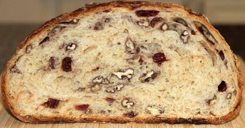 Хліб з горіхами подивитися рецепт