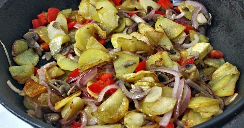 Картопля по-селянськи подивитися рецепт