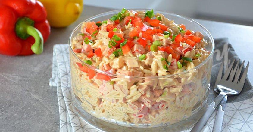 Гавайський салат подивитися рецепт