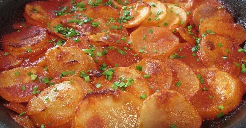 Картопля по-угорськи