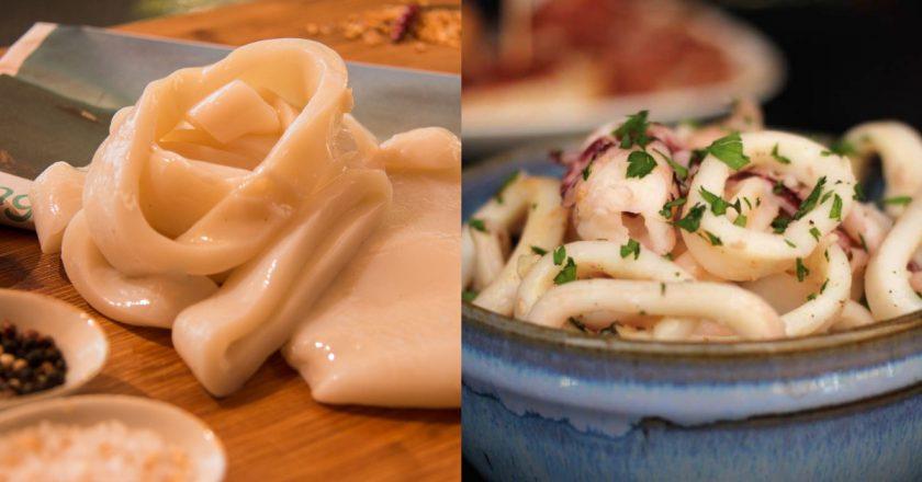 Мариновані кальмари в домашніх умовах подивитися рецепт