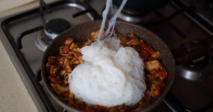 Китайська сковорідка подивитися рецепт