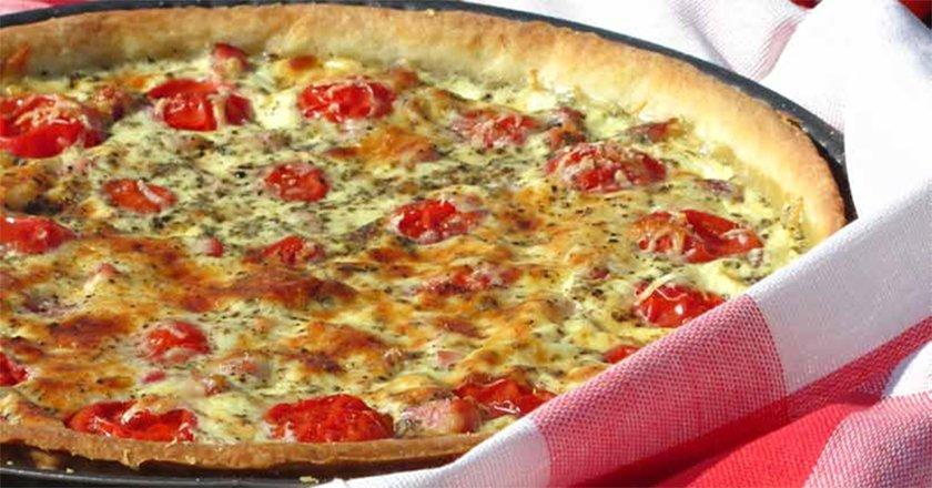 Тарт з помідорами подивитися рецепт