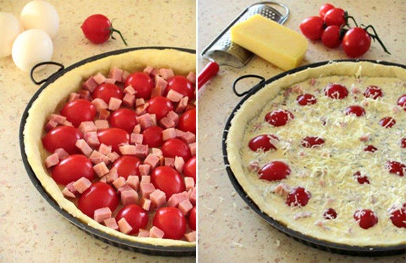 Тарт з помідорами