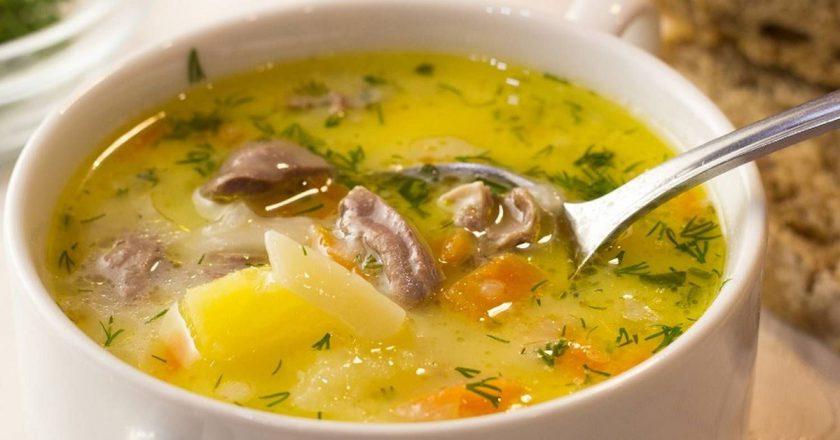 Сирний суп з сердечками подивитися рецепт