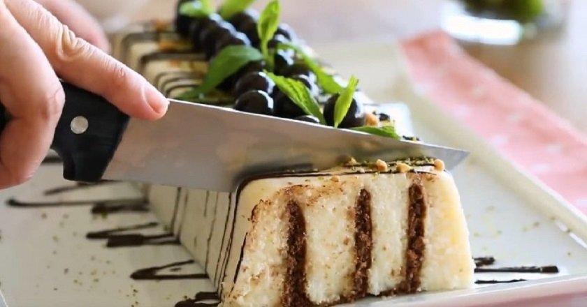 Десерт з манки подивитися рецепт