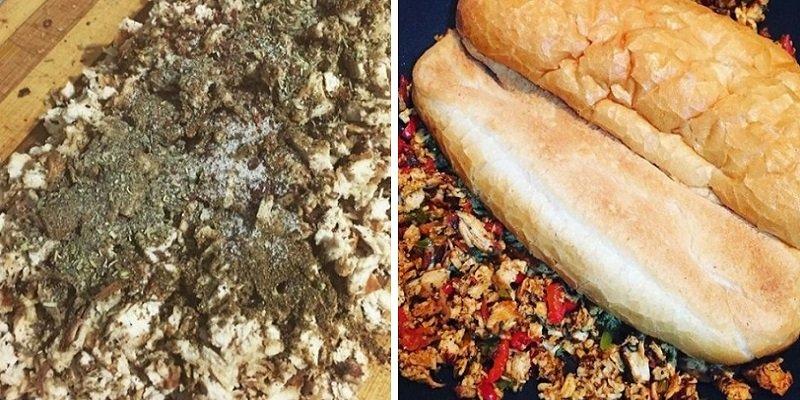 Турецький сендвіч з куркою