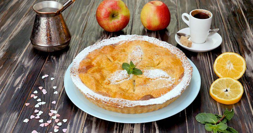 Ірландський закритий яблучний тарт подивитися рецепт