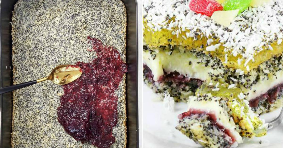 Торт «Макова леді»