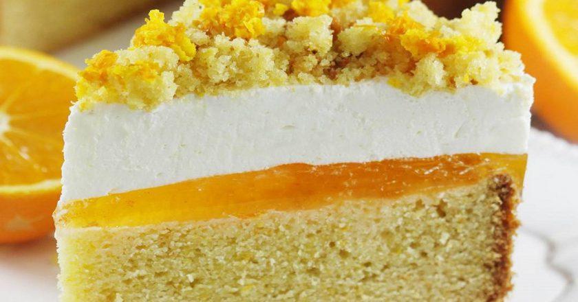Апельсиновий торт подивитися рецепт