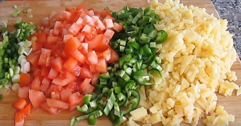 Овочевий пиріг в духовці