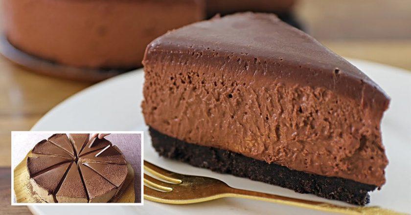 Шоколадний чізкейк подивитися рецепт