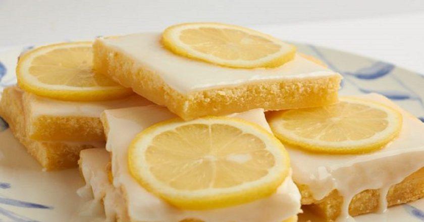 Лимонні тістечка подивитися рецепт