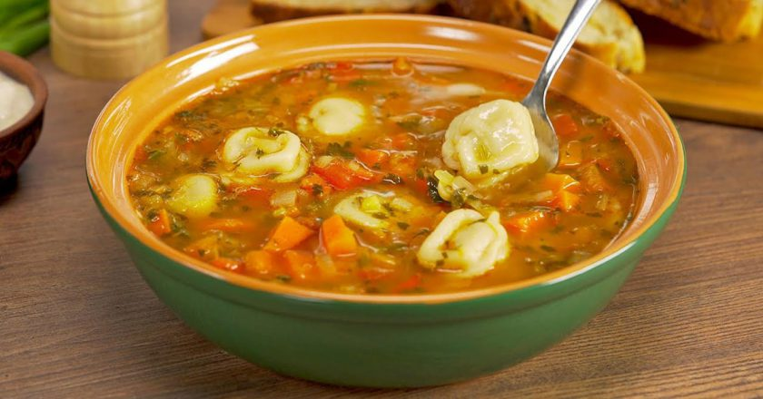 Суп з пельменями по-узбецьки подивитися рецепт