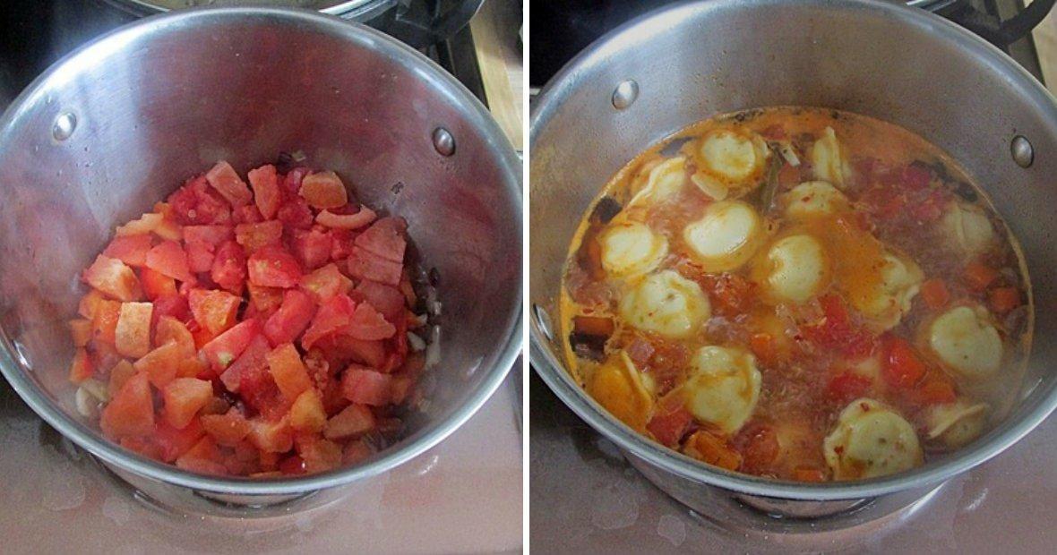 Суп з пельменями по-узбецьки