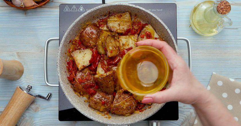 Карамелізована картопля подивитися рецепт