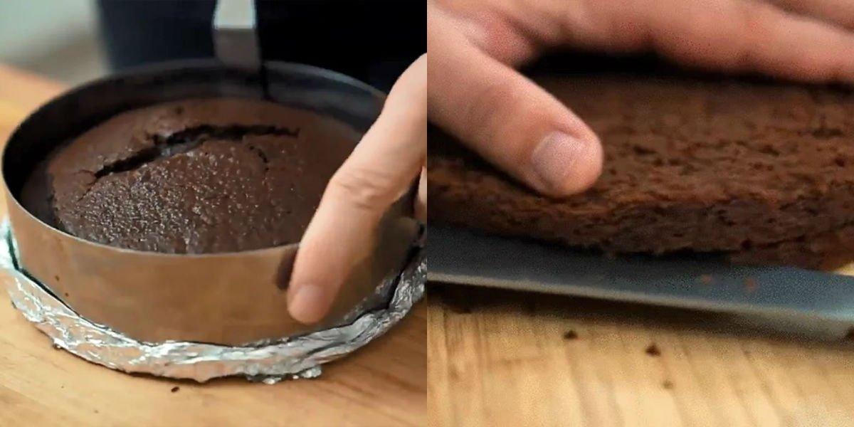 Пісний торт «Чорний ліс»
